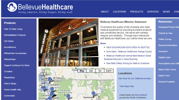 Bellevue Healthcare Slide Image